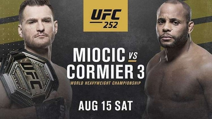 UFC 252: card completo