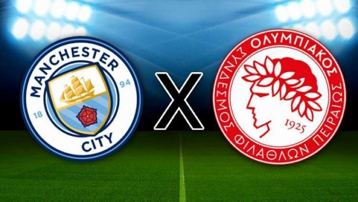 Manchester City x Olympiacos: onde assistir