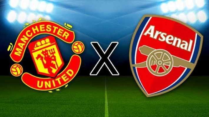 Manchester United x Arsenal: onde ver