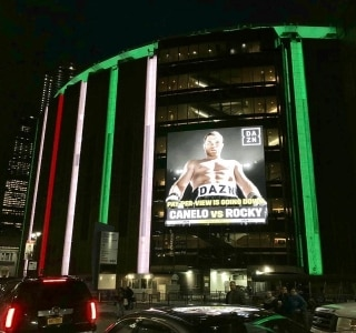 Madison Square Garden se 'veste' com as cores do México para Canelo x Fielding