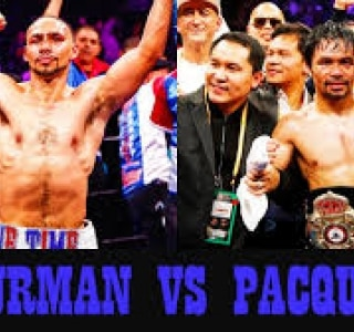 Manny Pacquiao x Keith Thurman e Errol Spence Jr. x Shawn Porter. Façam suas apostas