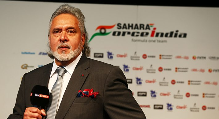 Vijay Mallya contestou provocações de Cyril Abiteboul (Sahara Force India)